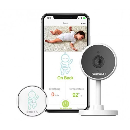 Sense-U Monitor, a complete baby monitor