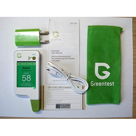 Greentest Eco 5, test the quality of your food at all times