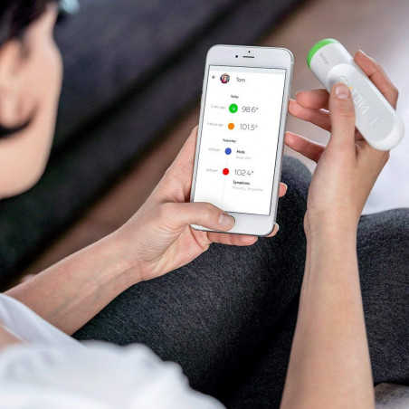 Thermo, a scan. 4000 measurements. The thermometer reinvented.