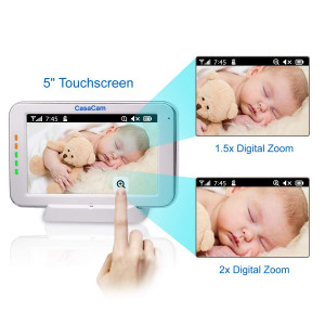 CasaCam, the baby monitor with a big screen