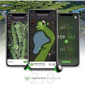 Arccos Caddie, play smarter and shoot lower