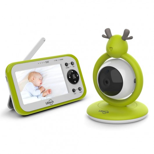 LBtech Video Baby Monitor with One Camera, the baby monitor with 4.3'' screen