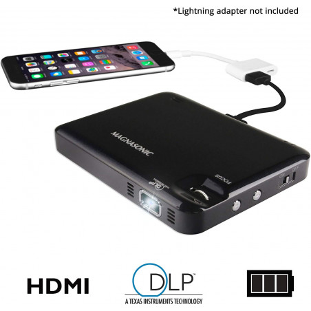 Magnasonic, pocket pico video projector