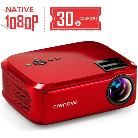 Crenova BL-76, the projector with a great luminosity