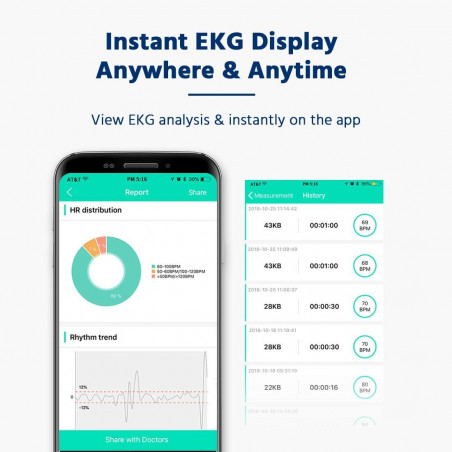 SnapECG Monitor, the wireless monitor