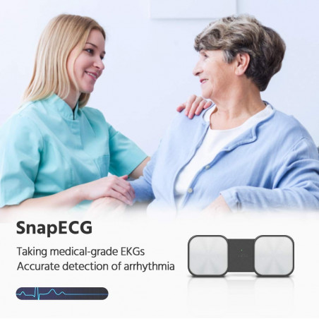 SnapECG Monitor, the wireless monitor