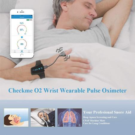 WellOxy Sleep Oxygen Monitor, monitor sleep apnea