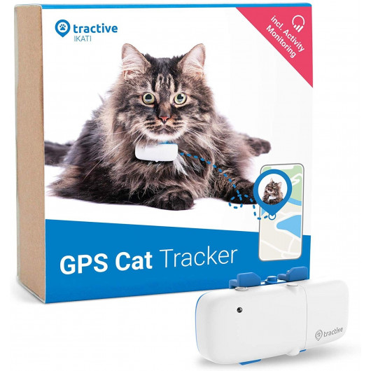 Tractive IKATI, the GPS tracker for your cat