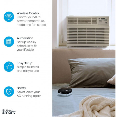 Atomi Smart AC Controller, control your AC on your phone