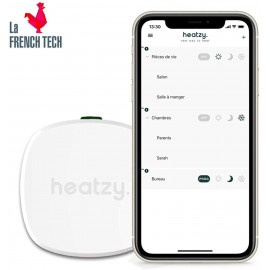 Heatzy Pilote, the smart thermostat