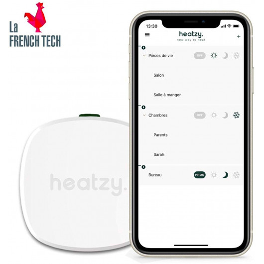 Heatzy Pilote, le thermostat connecté