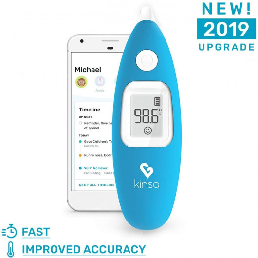 Kinsa Smart Thermometer, the temperature on your smartphone