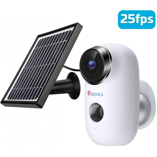 Ctronics Solar Security Camera, the solar powered camera