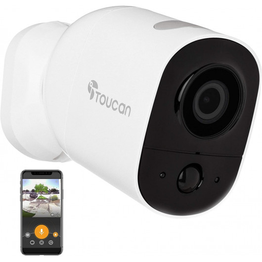 Toucan Wireless Outdoor Camera, the multifunction camera