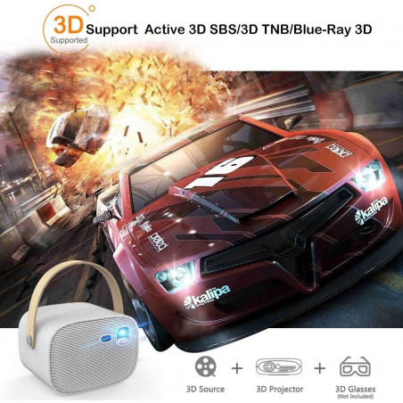 Wowoto M5, the bright 3D projector