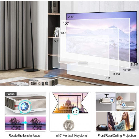 Wikish M5, the large internal storage projector