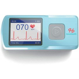 Sonohealth Portable EKG Monitor, check your heartrate at any time