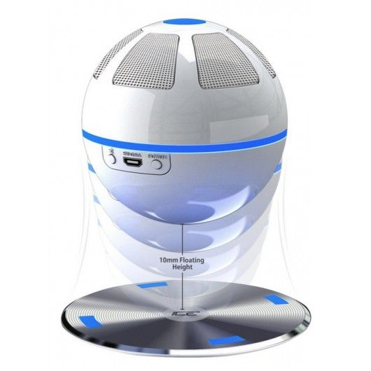 the levitating wireless Bluetooth speaker