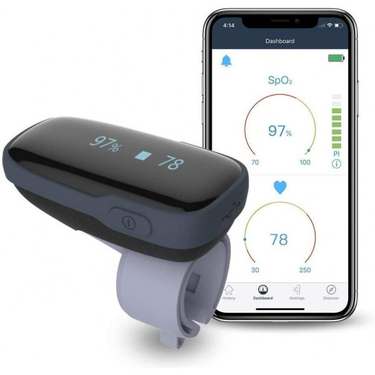 Viatom Pulse Oximeter, le moniteur confortable