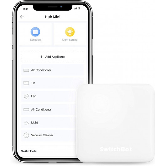 SwitchBot Hub Mini, contrôlez vos appareils