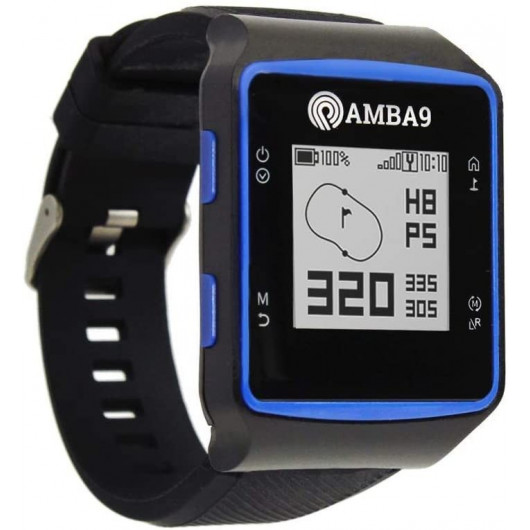 Amba9, la montre golf GPS légère