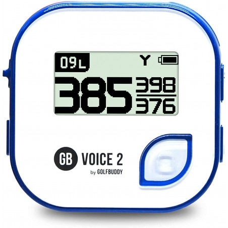 GolfBuddy Voice 2, the talking GPS device