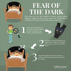 Touchpoints for Sleep, reduce stress in a few seconds