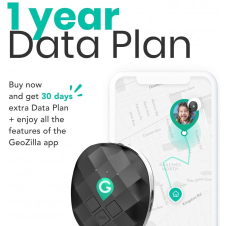 GeoZilla GPS Tracker, the tracker that brings more security