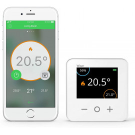 Drayton Wiser Thermostat Kit 2, control the temperature with your phone