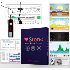 Biofeedback Stone Pro, your anti-stress solution