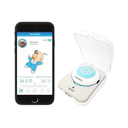 NearBeBe Care, le moniteur pour bébé connecté à votre smartphone