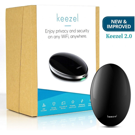 Keezel, the secure portable router