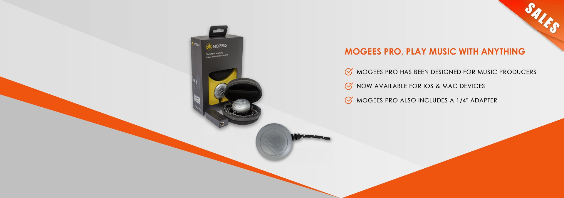 Mogees Pro, Play Music With Anything